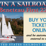 Win a sailboat at this year's boat show