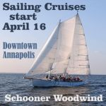 Schooners Woodwind have a busy summer planned and it kicks off now