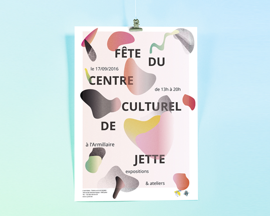 cultural center poster