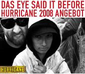 Hurricane 2008 - Mein Angebot