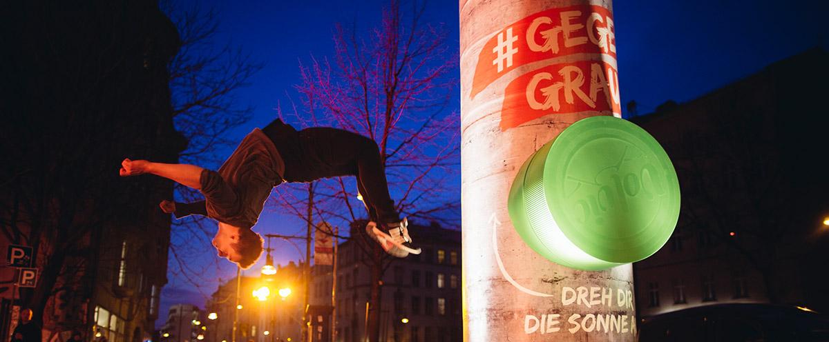 """Werbung(e): """"Juicy ist #gegengrau"""""""