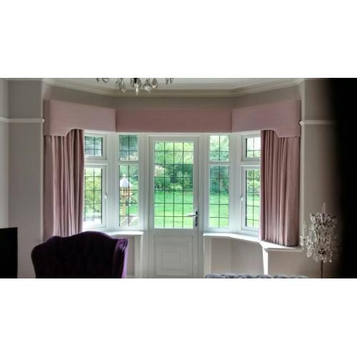 Medium Crop Of Bay Window Curtains