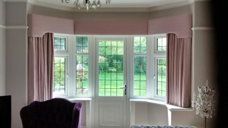 Large Of Bay Window Curtains