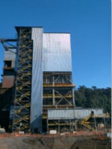 Projeto civil, metálico e do silo. Capacidade 5,200 ton.  Carajás / PA