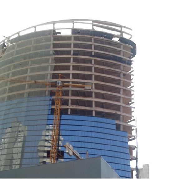 Projeto civil em parceria. Infinity Building – Engineer of Record no projeto laje técnica.