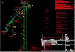 Arranjo físico de equipamento e isométrico ecopure lpx