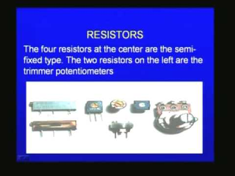 Introduction to Basic Electronics – Electronics Engineering Lecture – 2