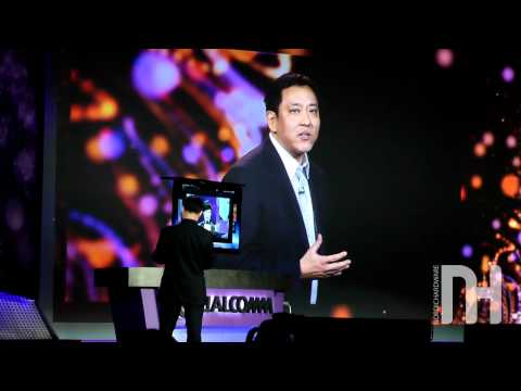 Lenovo shows of their new Android 4.0 based Smart-TV K91 with Snapdragon S3 processor