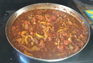 Zucchini Pepper Pot