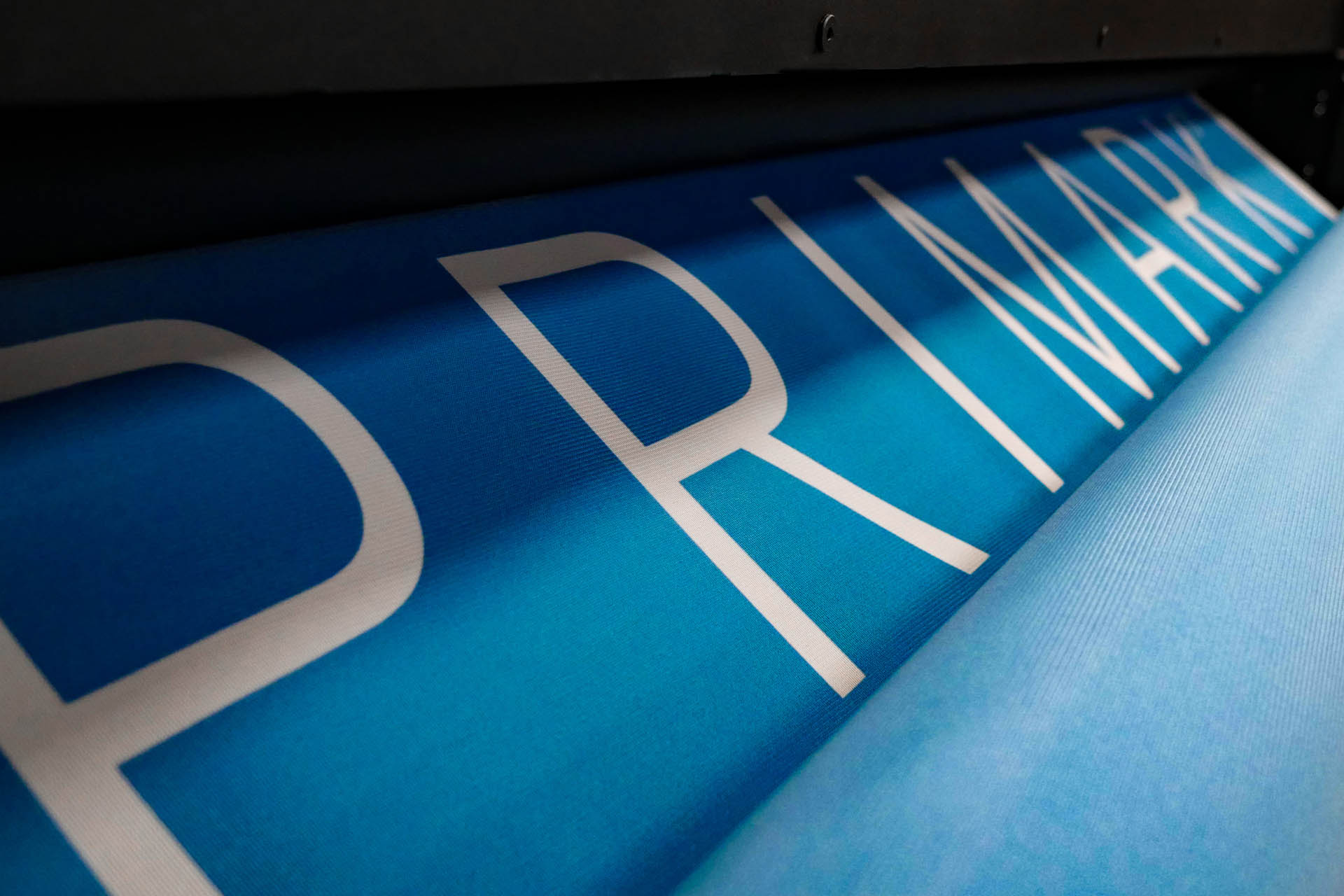 Faber Exposize Primark Flag Printing