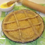 Make the lattice and egg wash.