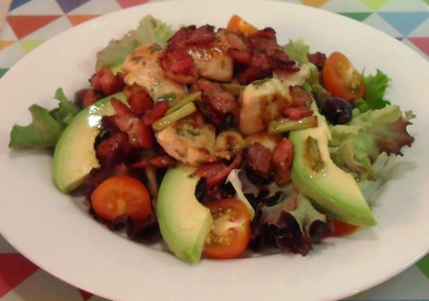 Warm Chicken, Bacon and Tarragon Salad