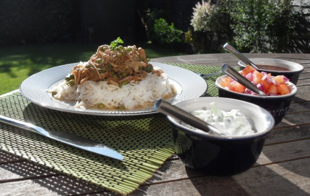 A delicious Chicken Curry that you can enjoy without a guilty conscience!