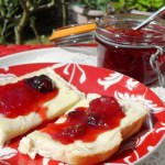 Preserve, British, bread and jam