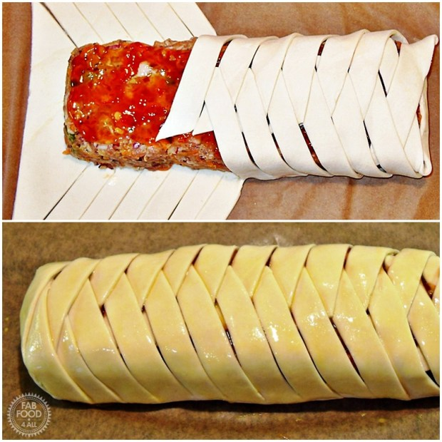 Sweet Chilli Sausage Plait = Fab Food 4 All