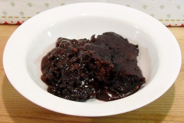 Slow Cooker Double Chocolate Speculoos Puddle Pudding
