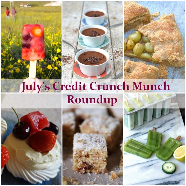 July's Credit Crunch Munch  Roundup (2015) - Fab Food 4 All