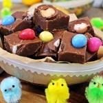 Creme Egg Chocolate Fudge - Fab Food 4 All