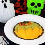Halloween Smoothie Bowl - fun pumpkin design! Fab Food 4 All