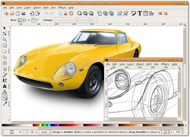 Inkscape E Gimp Due Alternative A Illustrator E Photoshop