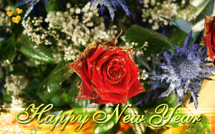 Happy New Year Ecard. 1920 x 1201.Happy New Year Graphics Free Download