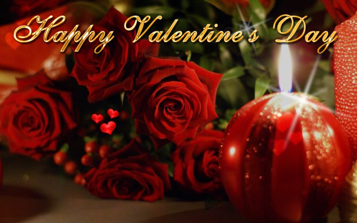 Happy Valentines Day Roses And Candle. 1920 x 1201.Valentines Cards Funny Free