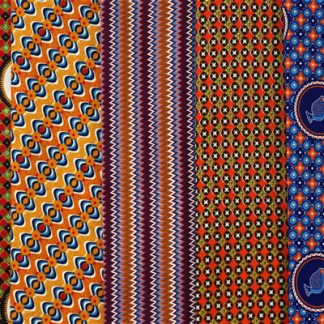 Traditional African Batik Prints