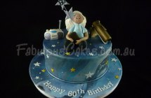 Astronomy Birthday Cake
