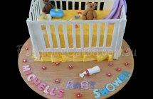 Baby Cot Birthday Cakes