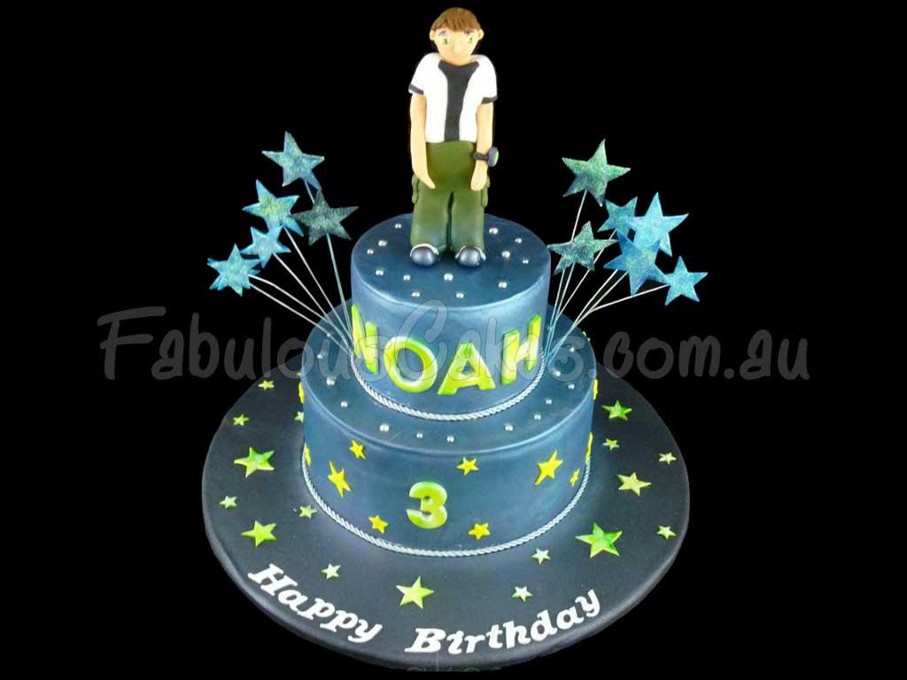 Ben 10 Birthday Cakes Fabulous Cakes