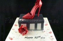 Stiletto Shoe Cakes