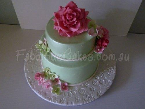 rose-flower-icing-cake