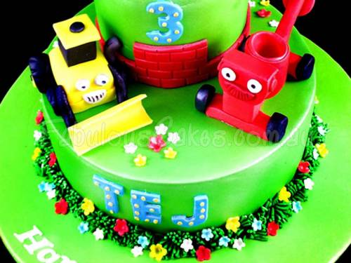 Meet Bob the Builder Birthday Cake