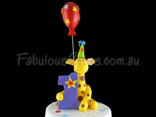 1st Birthday Cake – Boy – Ashton