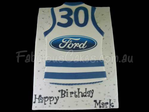 Ford T-Shirt Birthday Cake