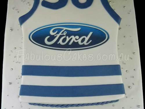 Ford T-Shirt Birthday Cake