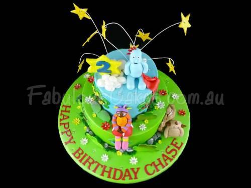 Night Garden Birthday Cake