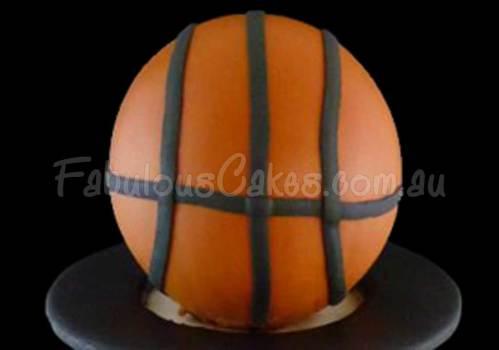 Basket Ball Themed Cake