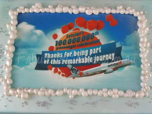 Corporate Cakes for Jet Star