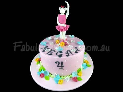 Angelina Ballerina Birthday Cake