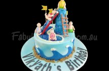 Water Park Theme Cakes