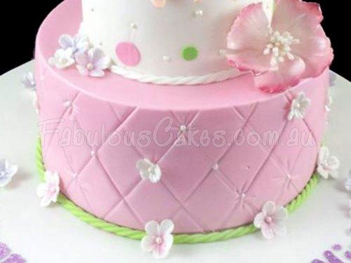 Pink Fairy Birthday Cake