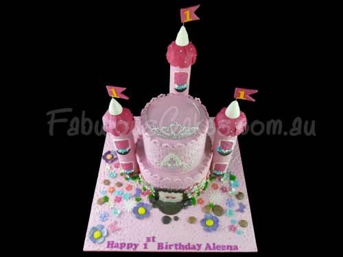 Aleena's Castle Cake
