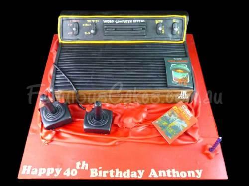 Atari Birthday Cake