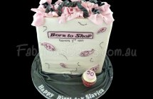 Born to Shop Cakes
