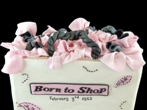 Born to Shop Cake