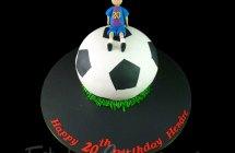 Soccer Cakes