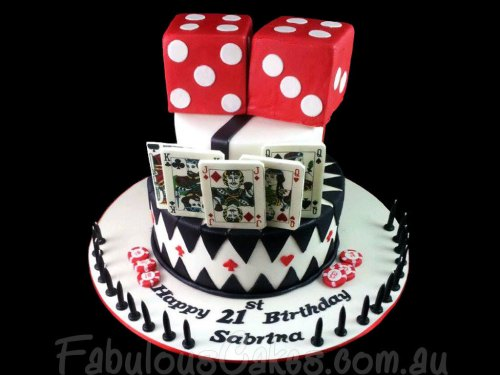 Casino Theme Cake