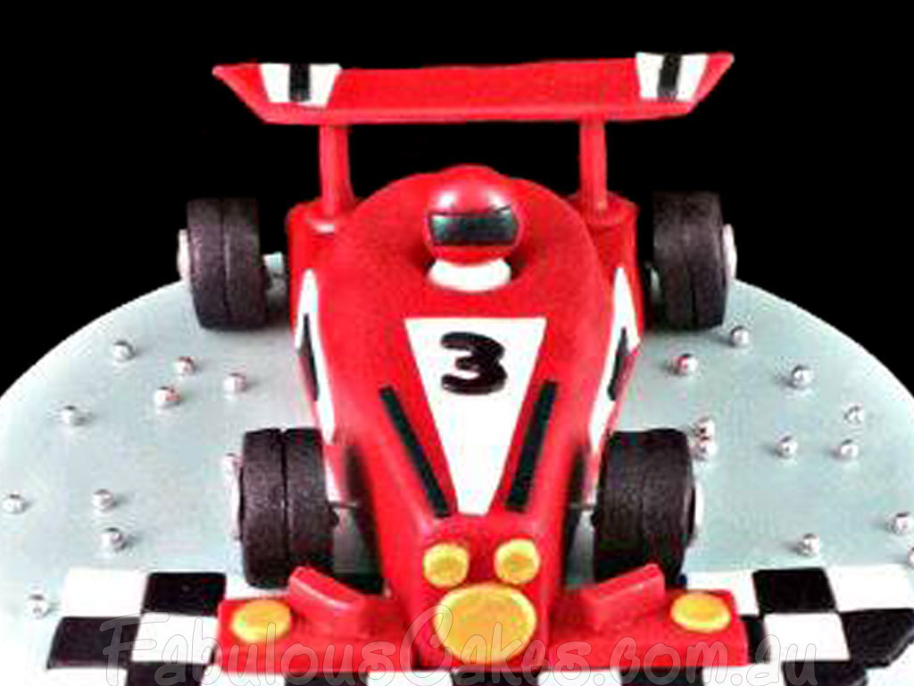Racing Cars Track Cakes Fabulous Cakes
