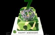 Army Theme Cakes